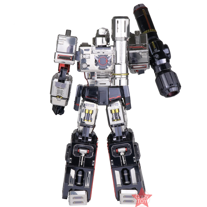 MU Transformers Megatron G1 YM-L055 DIY 3D Metal Model ...
