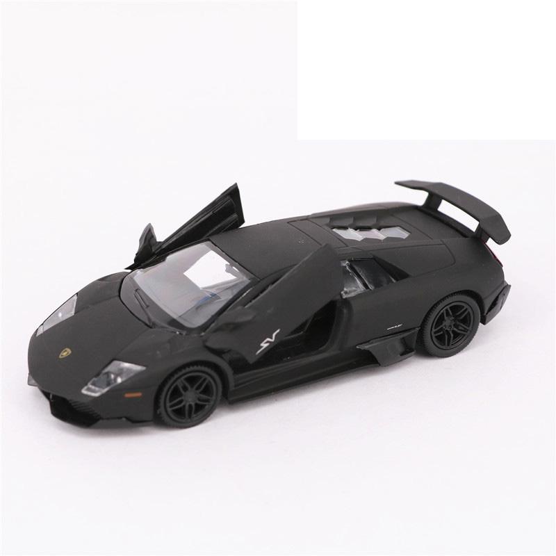 Lamborghini Murcielago LP670-4 SV 1:36 Scale Car Model Diecast Toy Vehicle Gray
