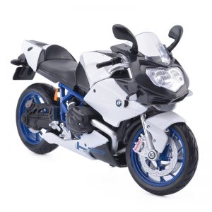 Maisto BMW HP2 Sport Motorcycles 1/12 Scale Diecast Metal Bike Model Toy  For Collection Kids Gift