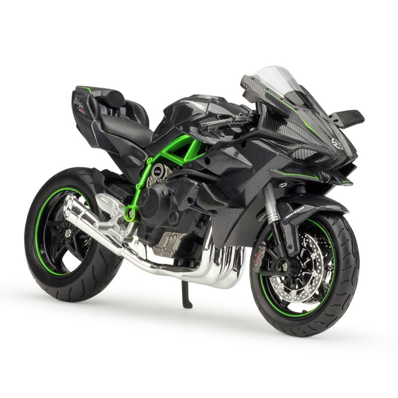 Maisto Kawasaki Ninja H2r Motorcycles 112 Scale Diecast Metal Bike