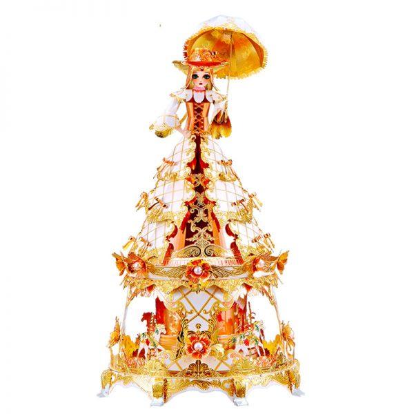 Piececool Princess Jasmine Music Box